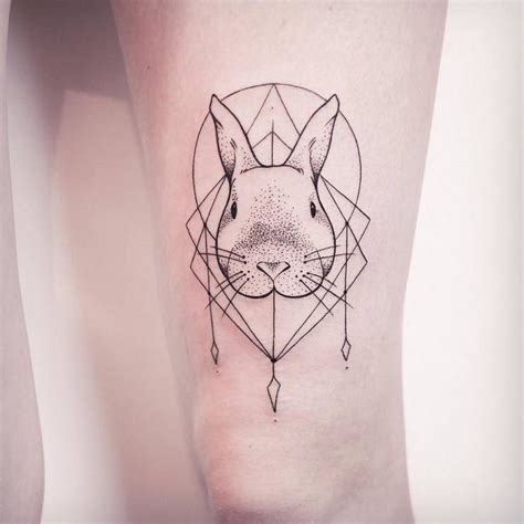 55 gorgeous rabbit tattoo designs designwrld