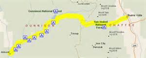colorado passes map motorcycle colorado passes and canyons cottonwood pass