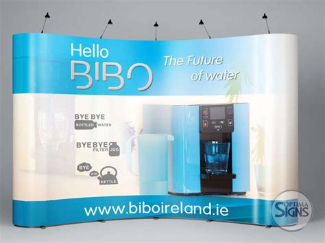 exhibition banners pop up exhibition display optima signs signage cork