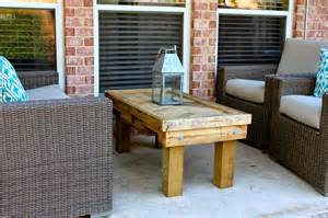 Outdoor Coffee Table Ideas by Diy Outdoor Table For The Stylish Yet Cost Effective Result