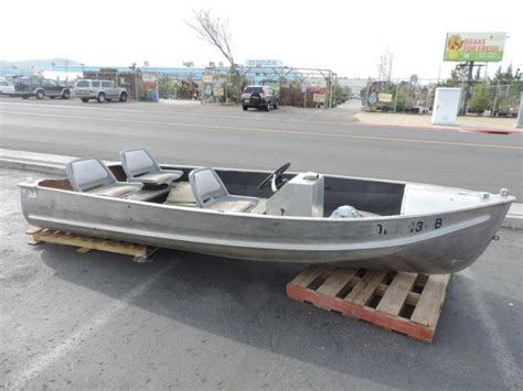star aluminum boats 1960 blue star aluminum boat lightning auctions