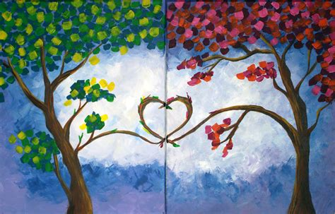 paint nite couples painting creations couples paint fundraiser