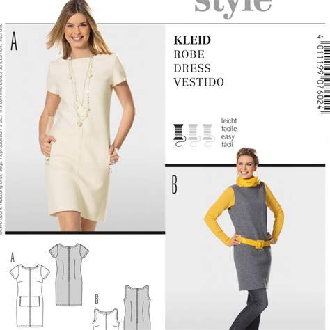 Patron Robe Droite Hiver - patron robe cousu burda 7602 patron de couture