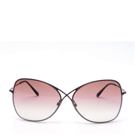 Butterfly Sunglasses tom ford colette tf 250 butterfly sunglasses labelcentric