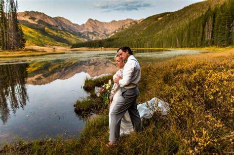 rustic autumn wedding piney river ranch colorado