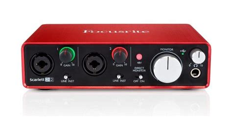 Focusrite 2i2 2nd Audio Interface focusrite 2i2 2nd vs 2i4 1st latency comparison masters of