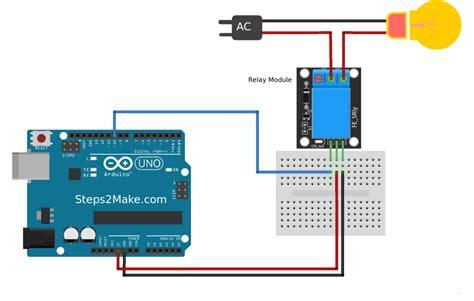 arduino code for relay arduino relay module interface circuits4you com
