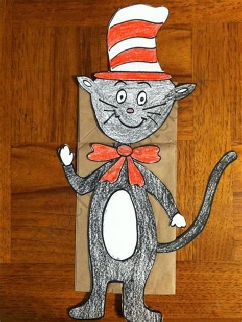 Paper Bag Cat Craft - fox in socks paper bag puppet template search results