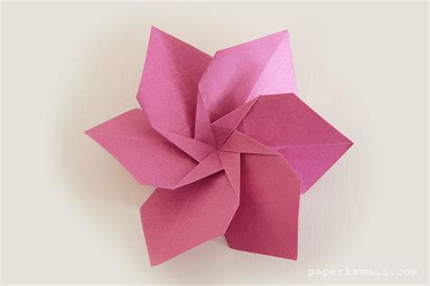 Origami Paper Flower - origami flowers by lafosse book review