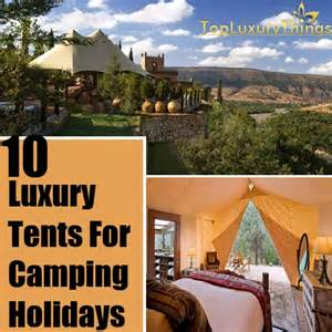 Luxury tents luxury camping tents and camping equipment pictures to