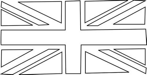 coloring page union jack flag beehive bits and pieces union jack bunting template