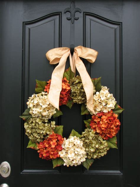 Decorative Wreaths For Front Door fall autumn wreaths wreaths fall decor front door wreaths