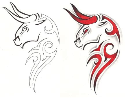 taurus zodiac sign tattoo design taurus tattoos and designs