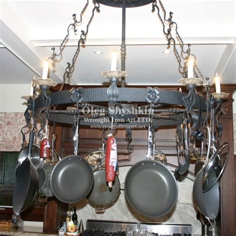 images  iron pot racks  pinterest copper