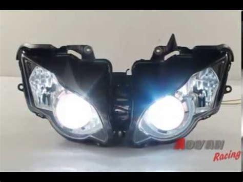 Proyektor Advan rainbow hid projector light headlight assembly
