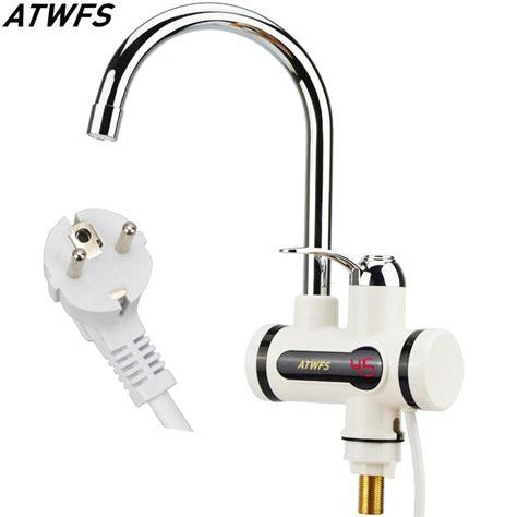 Kran Mixer Water Heater kaufen gro 223 handel elektrische heizung wasserhahn