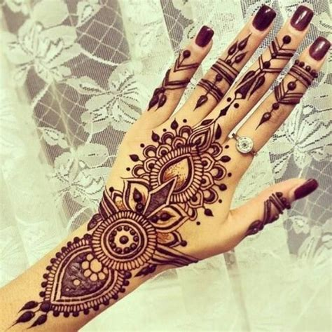 25 best ideas about henna hand tattoos on pinterest