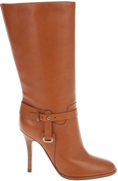 Kelsey Shoes Import 14 ralph collection kelsey boot in brown gold lyst