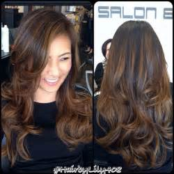hair highlight for asian 25 best ideas about highlights for black hair on