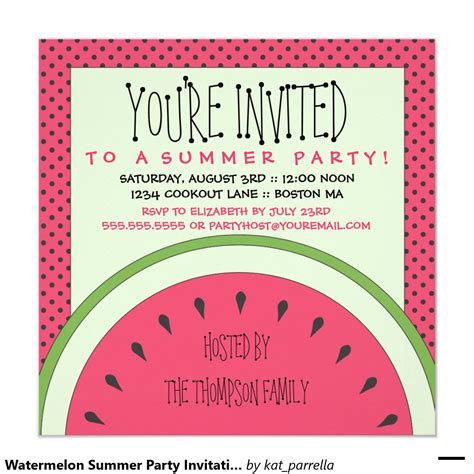 summer invitation templates free card template summer invitations card invitation