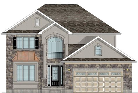home design ontario house plans canada stock custom
