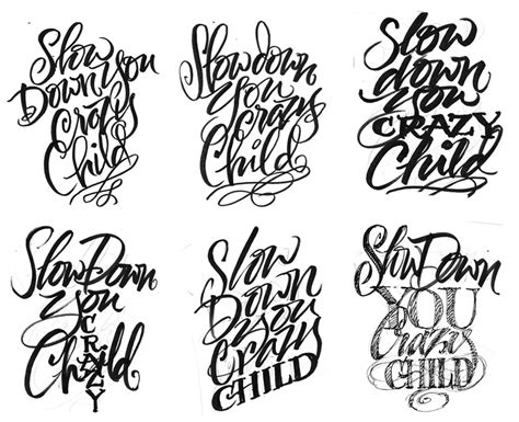 tattoo font hand lettering the art of hand lettering july 2011