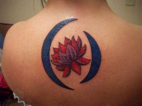 blue moon tattoo designs 65 lotus flower designs that is of meanings