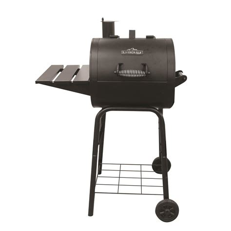 Backyard Grill 17 5 Charcoal Grill Rivergrille 17 5 In Desperado Charcoal Grill In Black Cg2065303 Rg The Home Depot