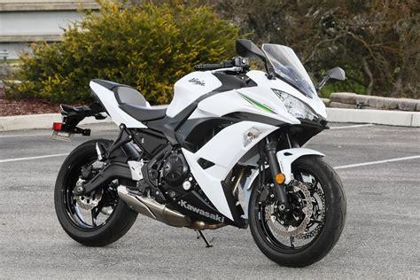 White Kawasaki by 2017 Kawasaki 650 Ride Review Revzilla