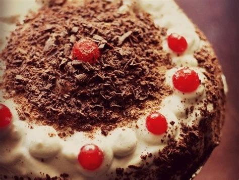 eggless black forest cake recipe, how to make black forest ... G Recipes