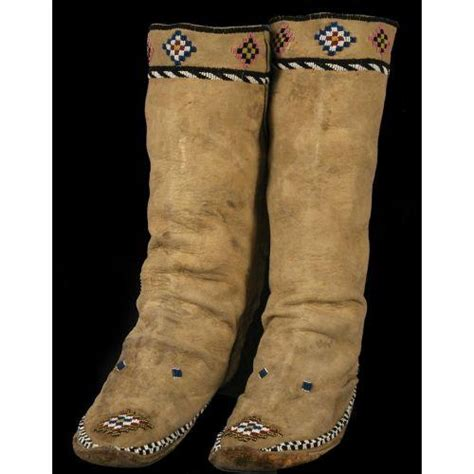 beaded moccasin tops apache beaded high top moccasins moccasins