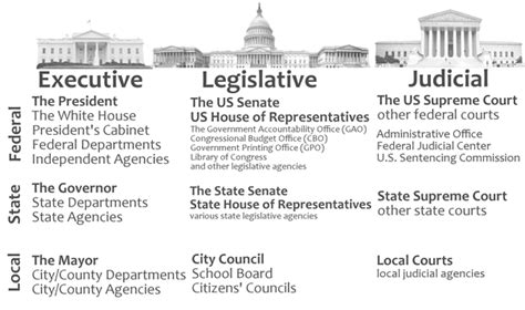 united states government and politics section 1 gallery departments and agencies of government anatomy