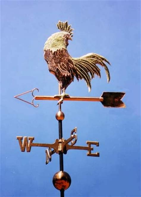 Rooster Weather Vanes Copper Weathervane Rooster Woodworking Projects Plans