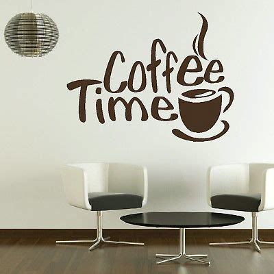 Wallpaper Dinding Motif Coffe time quotes wall stickers image quotes at relatably