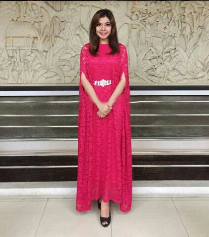 Dress Brukat Hitam Merah dress terbaru kaftan cape brukat cantik