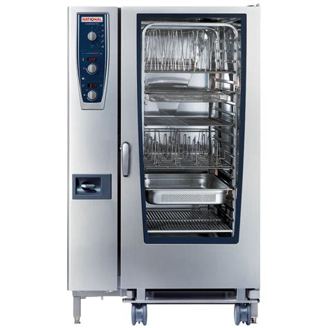 Oven Combi rational combimaster plus model 202 b229206 19e202 gas single deck combi oven with