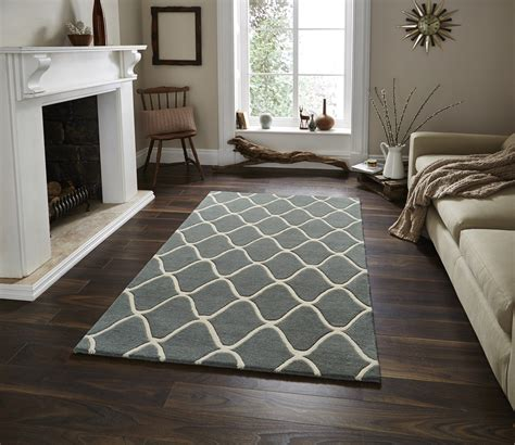 big rugs for bedrooms wave design hand tufted 100 wool rug contemporary home