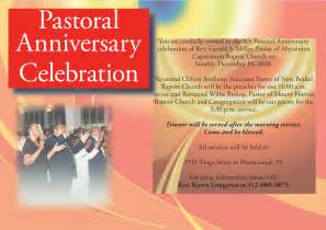 church occasion for pastor and wife anniversary just b cause