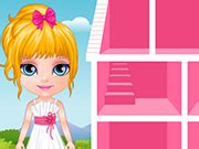 barbie doll house cartoon baby barbie hobbies doll house play the girl game online