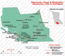 vancouver coast mountains columbia bed and
