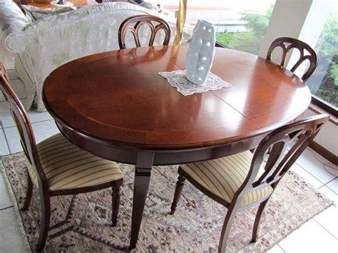 tavolo in legno massello prezzi tavolo allungabile le fablier in legno massello prezzo outlet