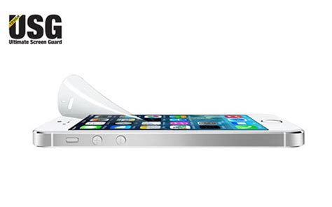 Colorant Iphone 5 Usg Clear 1 新製品ニュース iphone 5 5s 5c用の衝撃吸収保護フィルム usg tough shield
