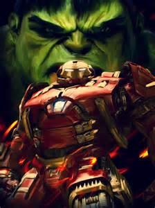 hulk hulkbuster poster