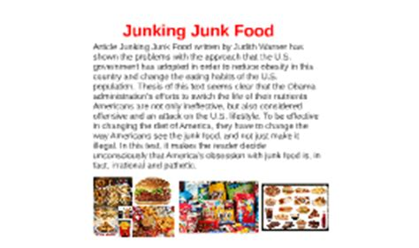 Effects Of Junk Food Essay by College Essays College Application Essays Effects Of Junk Food Essay