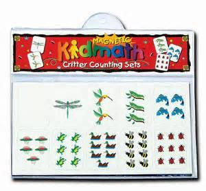 Magnet Set 1301 magnetic kidmath critter counting sets barker creek