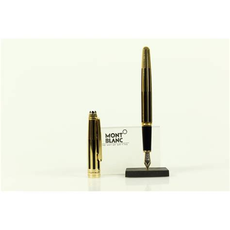 Montblanc Gold Black by Montblanc Solitaire Gold Black Classique F 252 Ller Neuware