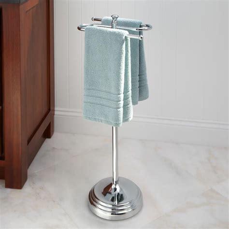 towel racks for bathrooms free standing 17 best ideas about free standing towel rack on pinterest