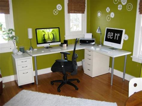 decorating a small home office makeover dekor garage