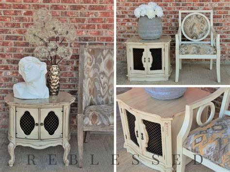inspiration paints home design center llc antique nightstand with dressed linen general finishes