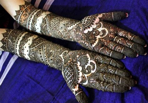 30 stunning mehandi designs for indian brides indian